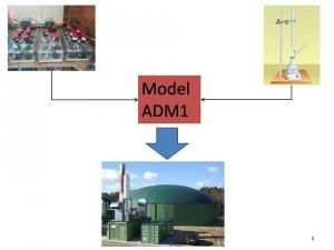 Modelowanie procesu fermentacji metanowej z wykorzystaniem ADM1