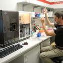 Biacore3000. Urządzenie do badania oddziaływań międzycząsteczkowych - przy pracy