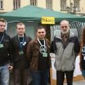 Ogólnopolskie Dni Biotechnologii 2010 Grupa studentów Biotechnologii UWr z prof. Szczepaniakiem