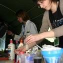 ODB 2011 Doświadczenie - izolacja DNA z cebuli wykonywane przez byłą już studentkę WB UWr.